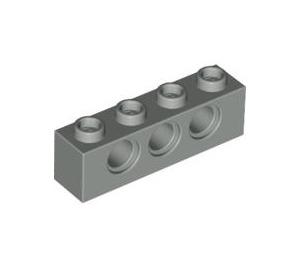 LEGO Light Gray Technic Brick 1 x 4 with Holes (3701)