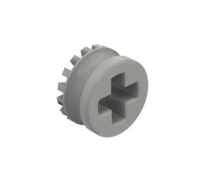 LEGO Light Gray Technic Bush 1/2 with Teeth Type 1 (4265)