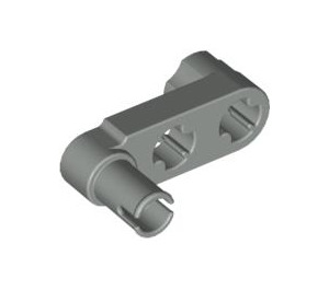 LEGO Light Gray Technic Half Beam 3 with Knob and Pin (33299)