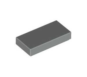LEGO Light Gray Tile 1 x 2 with Groove (3069)