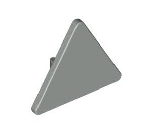 LEGO Light Gray Triangular Sign with Clip (30259)