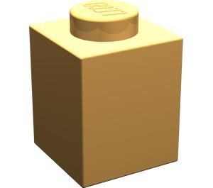 LEGO Light Orange Brick 1 x 1