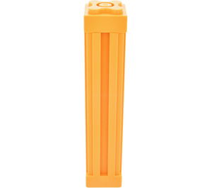 LEGO Light Orange Scala Support 2 x 2 x 8