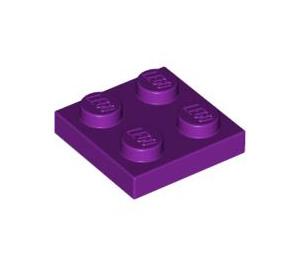 LEGO Light Purple Plate 2 x 2 (3022)