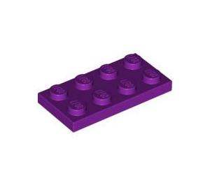 LEGO Light Purple Plate 2 x 4 (3020)