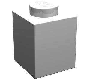 LEGO Light Stone Gray Brick 1 x 1 (3005)