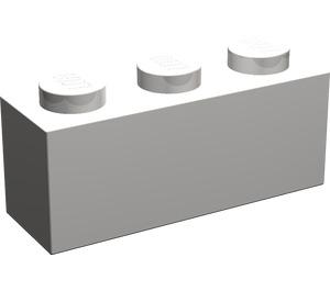 LEGO Light Stone Gray Brick 1 x 3 (3622)