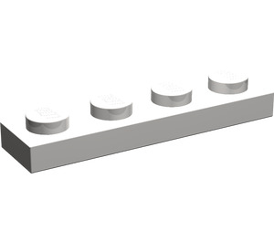 LEGO Light Stone Gray Plate 1 x 4