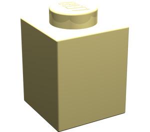 LEGO Light Yellow Brick 1 x 1 (3005)