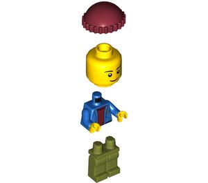 LEGO Lighthouse Point Father Minifigure