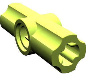 LEGO Lime Angle Connector #2 (180º) (32034)