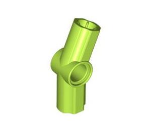LEGO Lime Angle Connector #3 (157.5º) (32016)