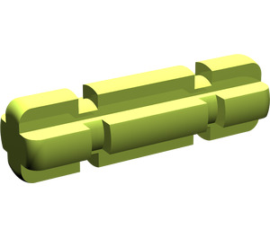 LEGO Lime Axle 2 with Grooves