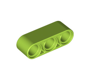 LEGO Lime Beam 3 (32523)