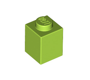 LEGO Lime Brick 1 x 1 (3005)