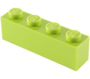 LEGO Lime Brick 1 x 4 (3010)