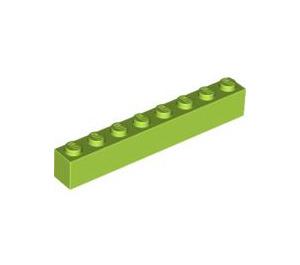 LEGO Lime Brick 1 x 8 (3008)