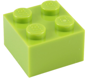 LEGO Lime Brick 2 x 2 (3003)