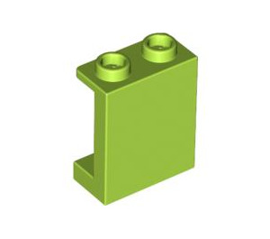 LEGO Lime Panel 1 x 2 x 2 with Side Supports, Hollow Studs (87552)