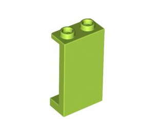 LEGO Lime Panel 1 x 2 x 3 with Side Supports - Hollow Studs (87544)