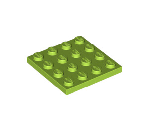 LEGO Lime Plate 4 x 4 (3031)