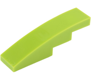 LEGO Lime Slope 1 x 4 Curved (11153 / 61678)