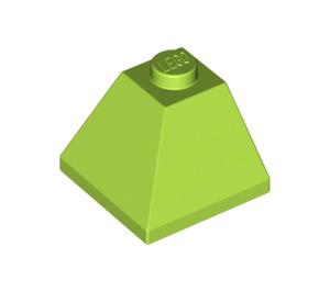 LEGO Lime Slope 45° 2 x 2 (3045)