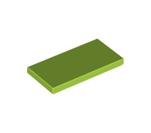 LEGO Lime Tile 2 x 4 (87079)