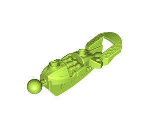 LEGO Lime Toa Upper Leg / Knee Armor with Ball Joints (53548)