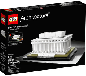 LEGO Lincoln Memorial Set 21022 Packaging