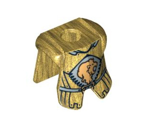 LEGO Lion King Minifig Armour Plate (90975)