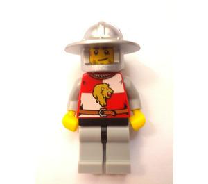 LEGO Lion Knight Quarters, Helmet with Broad Brim Chess Pawn Castle Minifigure