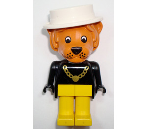 LEGO Lionel Lion with White Hat Fabuland Minifigure