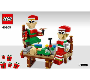 LEGO Little Elf Helpers Set 40205 Instructions