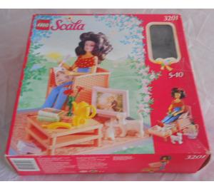 LEGO Living Room Set 3201 Packaging