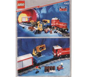 LEGO Load N' Haul Railroad Set 4563 Instructions