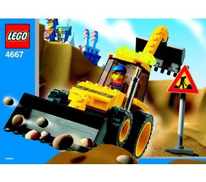 LEGO Loadin' Digger Set 4667 Instructions