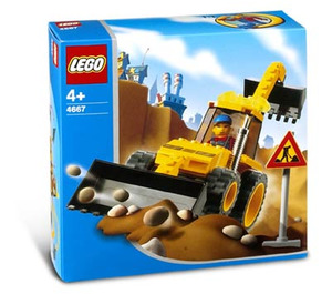 LEGO Loadin' Digger Set 4667 Packaging