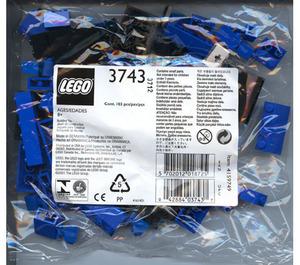 LEGO Locomotive Blue Bricks Set 3743