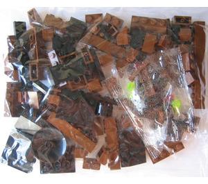 LEGO Locomotive Brown Bricks Set 3746