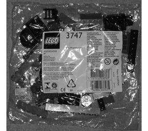 LEGO Locomotive Dark Grey Bricks Set 3747