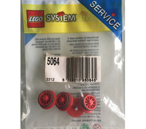 LEGO Locomotive Wheels for Battery Train Set 5064