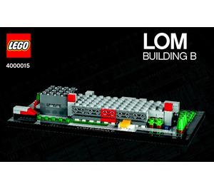 LEGO LOM Building B Set 4000015 Instructions
