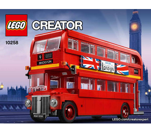 LEGO London Bus Set 10258 Instructions