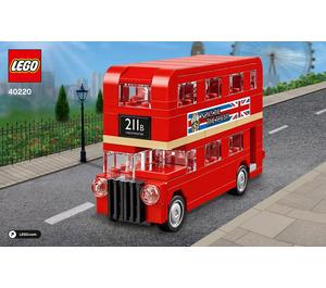 LEGO London Bus Set 40220 Instructions
