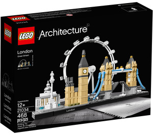 LEGO London Set 21034 Packaging