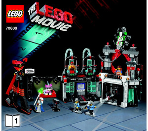 LEGO Lord Business' Evil Lair Set 70809 Instructions