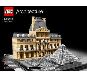 LEGO Louvre Set 21024 Instructions