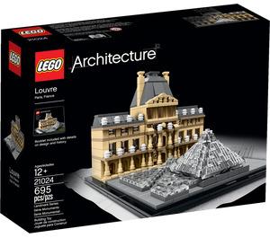 LEGO Louvre Set 21024 Packaging