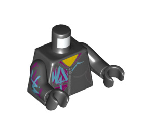 LEGO Lucy Minifig Torso (973 / 76382)